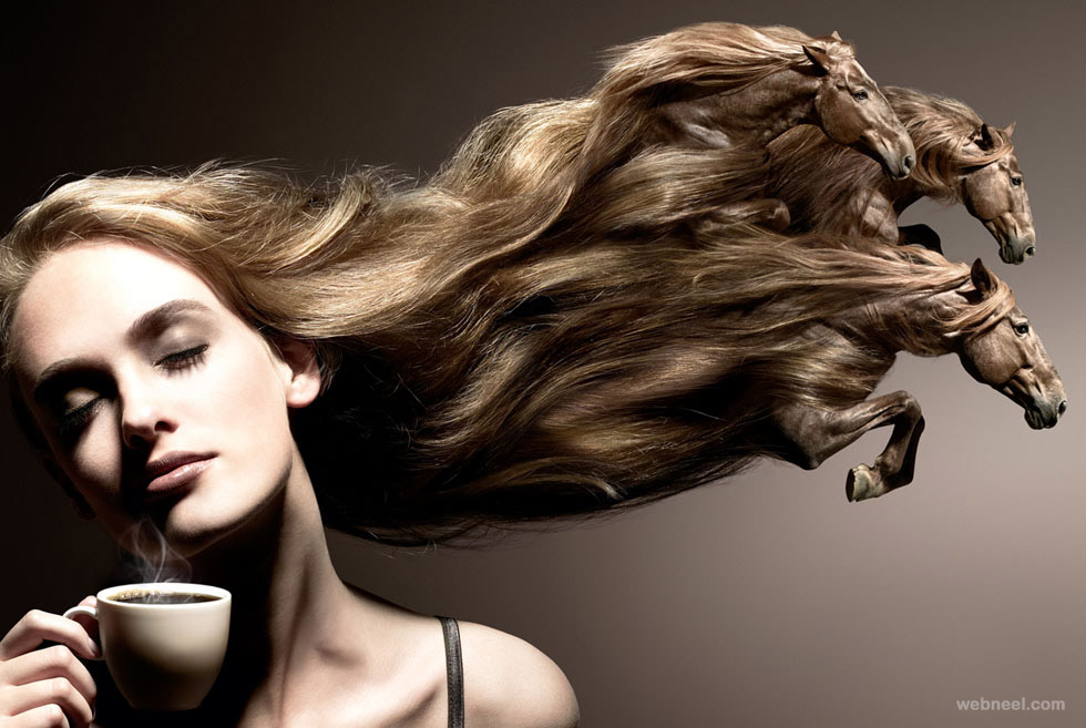 hair photo manipulation by christophe gilbert