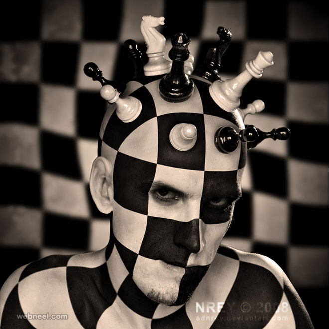chess board photo manipulation