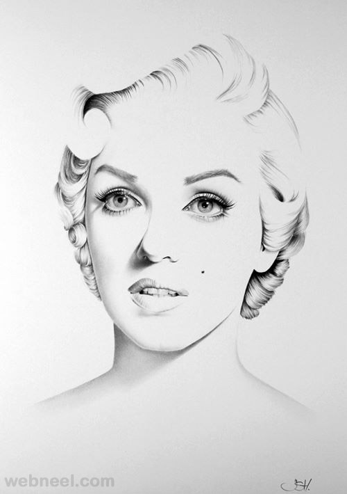 realistic pencil drawing