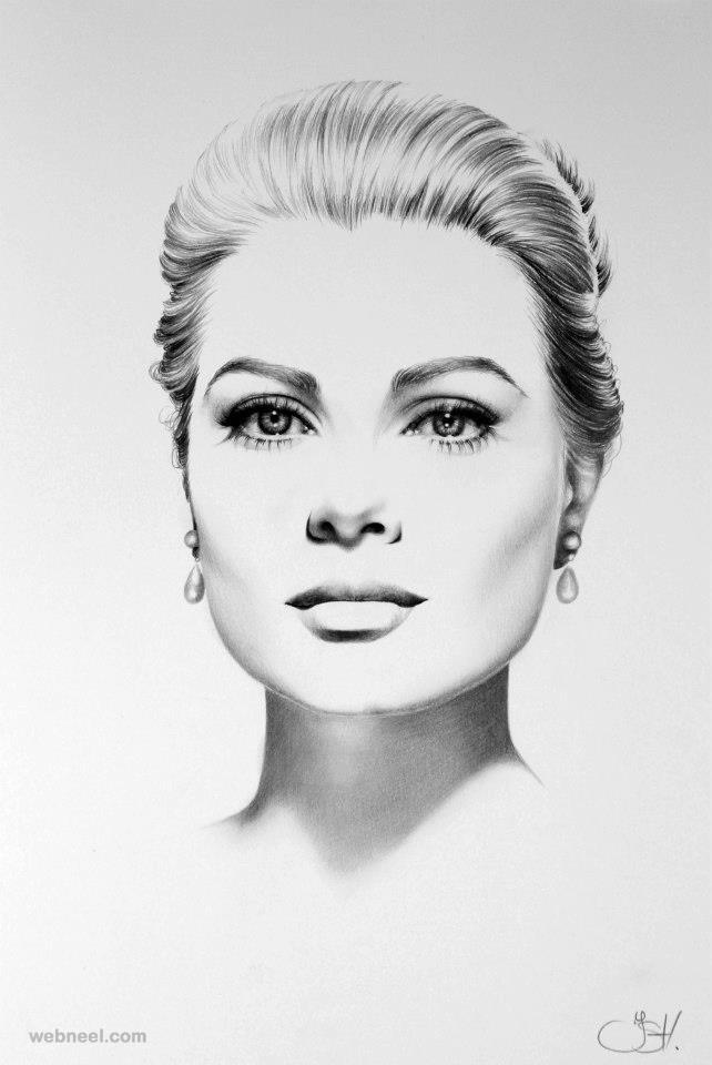 hyper realistic pencil drawing