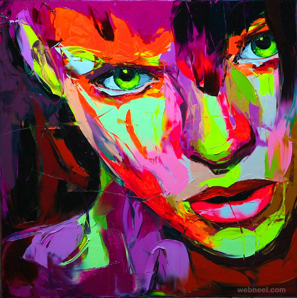 best knife painting by francoise nielly