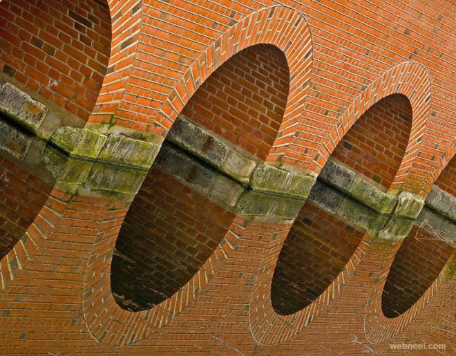 bridge reflection photography