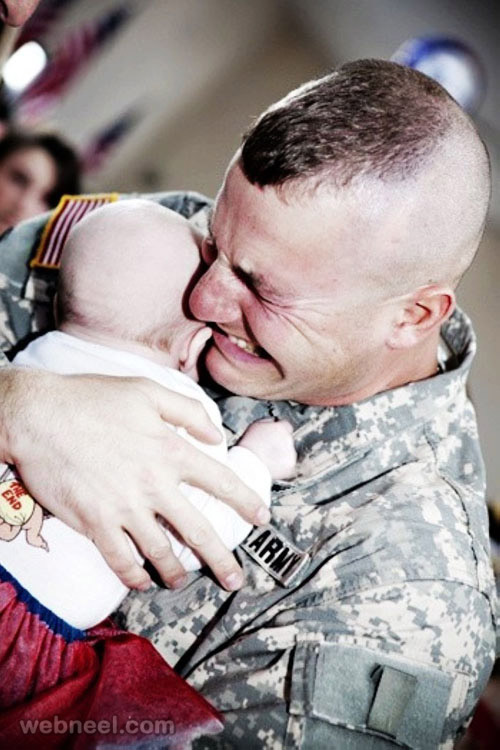 inspiring photograph soldier