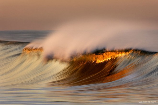 wave reflection photography