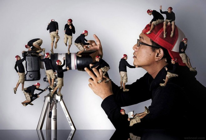 camera photo manipulation by ari mahardhika