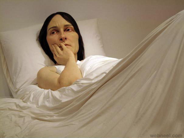 50 super realistic and mind blowing human sculptures