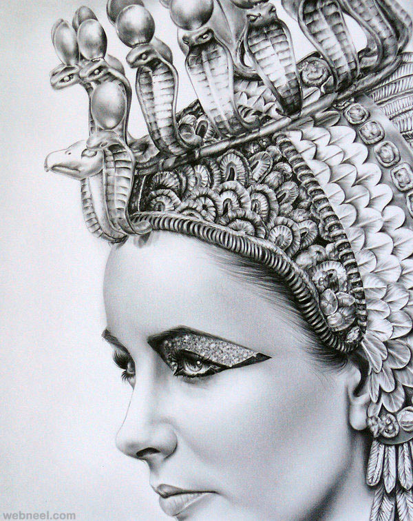 realistic pencil drawing by ileana hunter