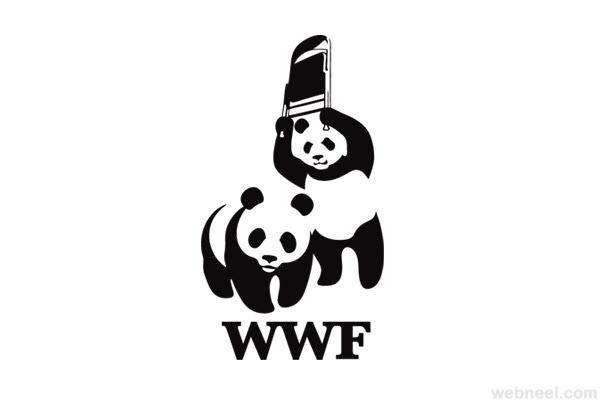 world wildlife foundation wwf logo parody