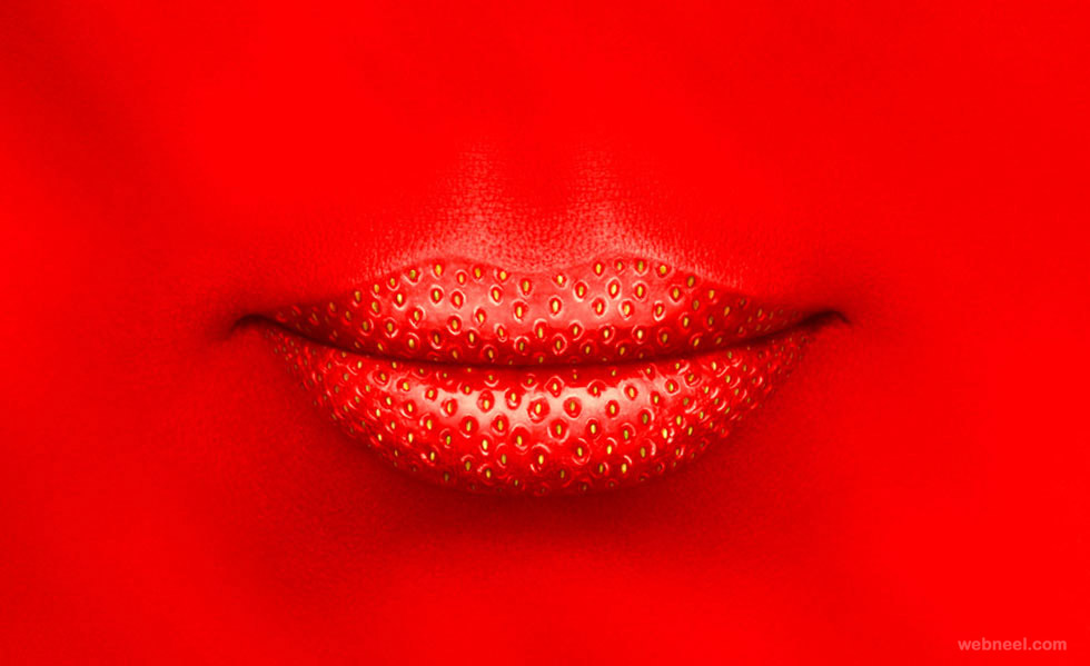 lips photo manipulation