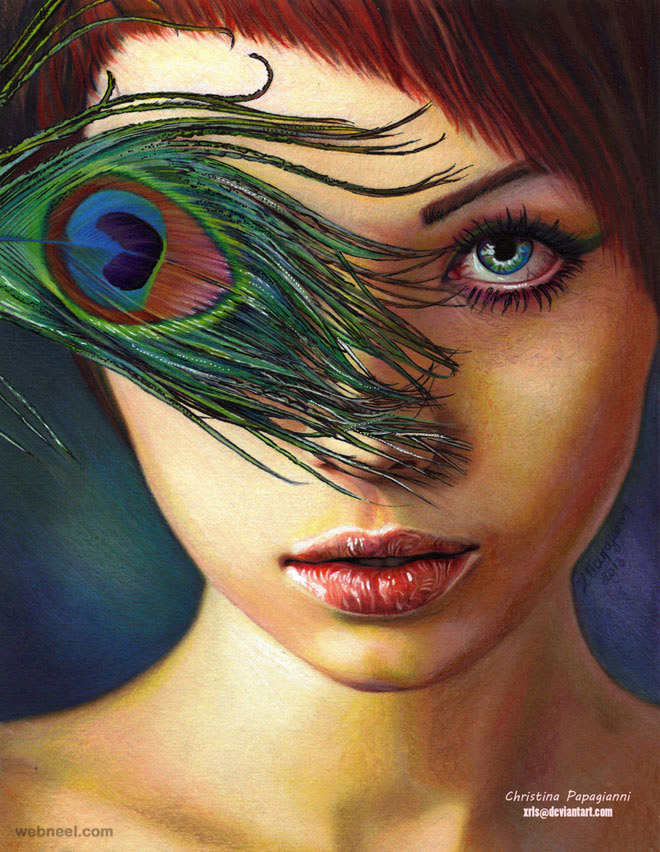 25 Hyper-Realistic Color Pencil Drawings by Christina ...