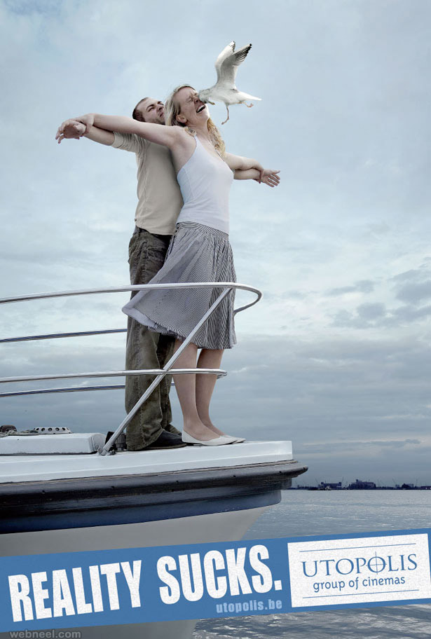 titanic funny ad