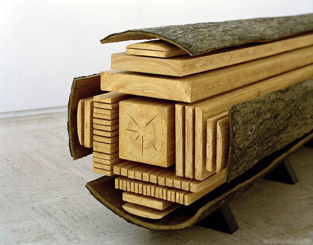 beautiful cuts of wood
