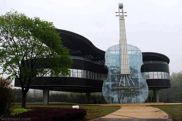 beautiful transparent guitar