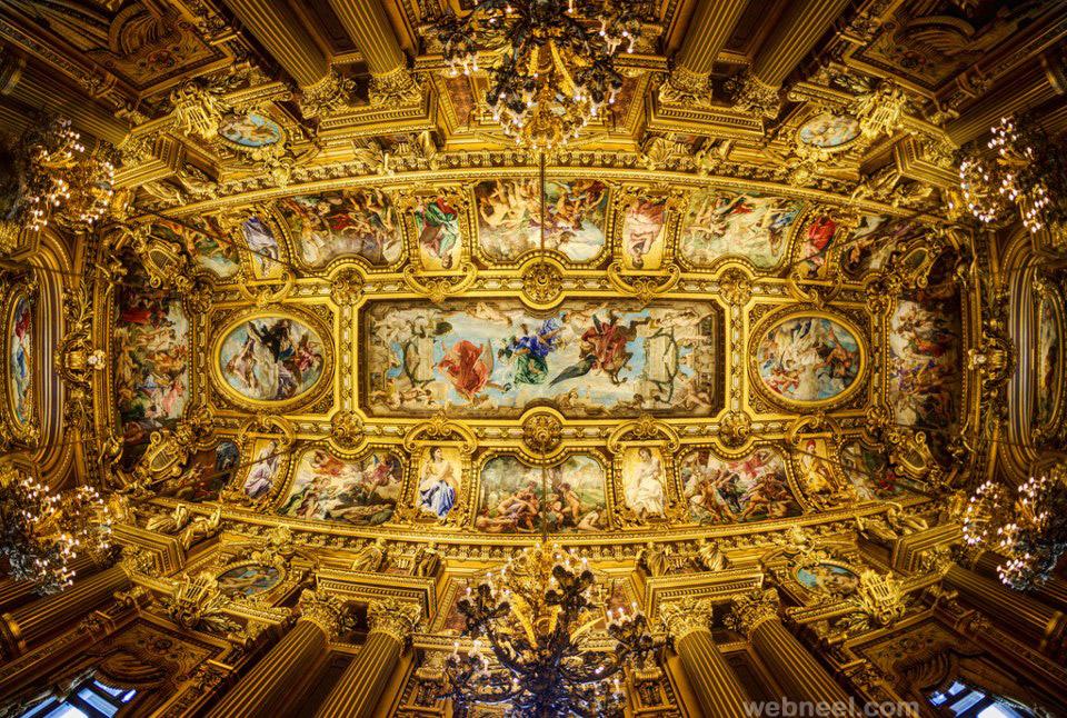 ceiling art paris
