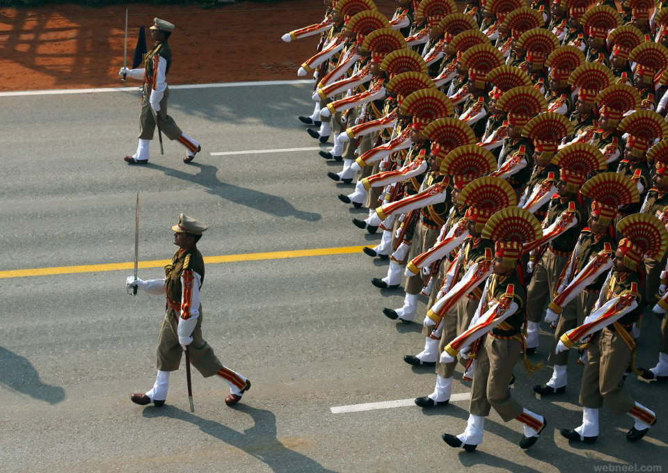 perfect army march