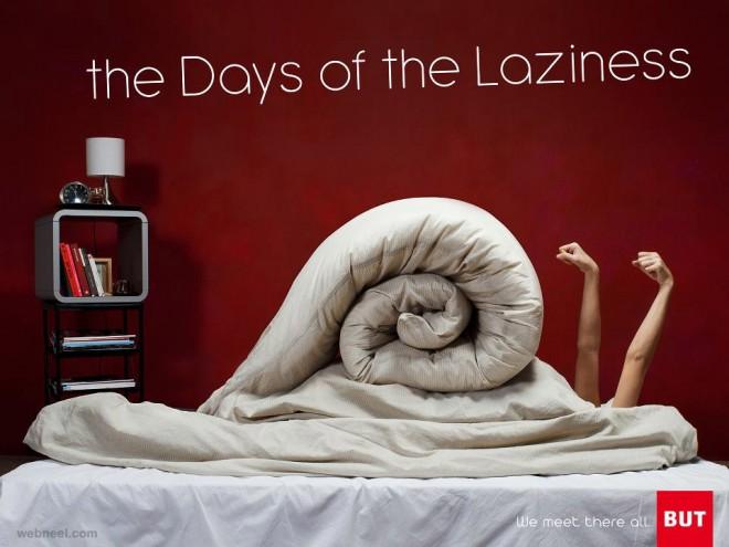 creative ad laziness snail