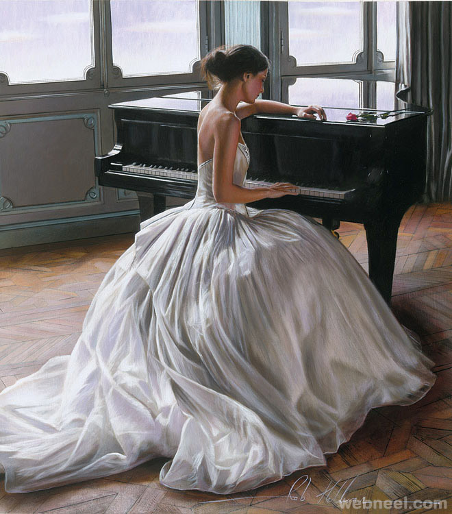 oil painting by rob hefferan