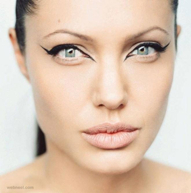 eyes cubism photo manipulation