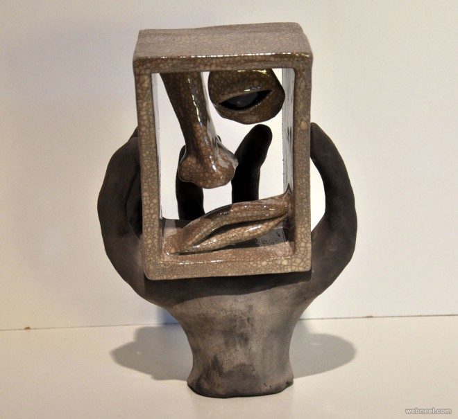 clay sculptures by matias sierra
