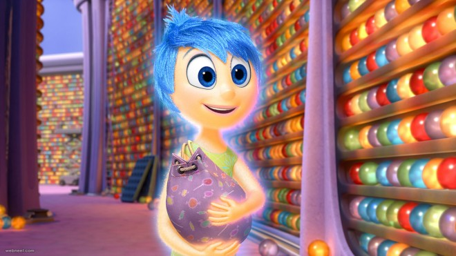 inside out wallpaper animation movie