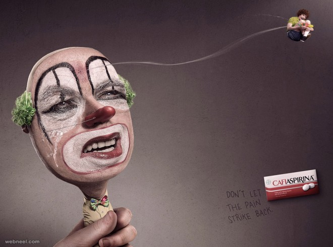 headache creative advertising