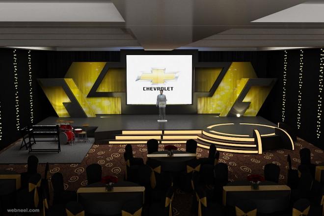 stage design by rafiqahmad