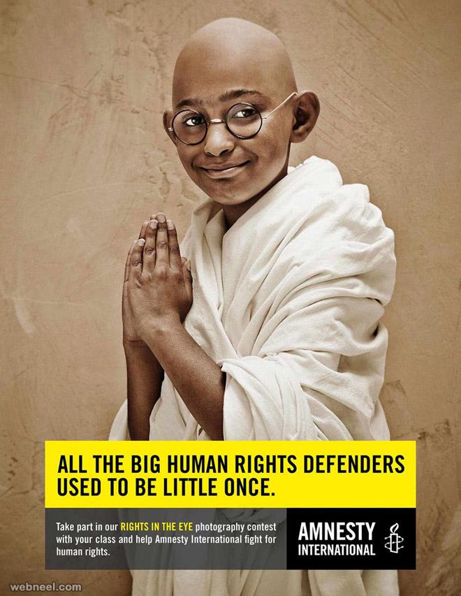 human rights creative advertising