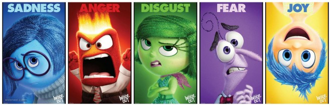 inside out animation movie emotions