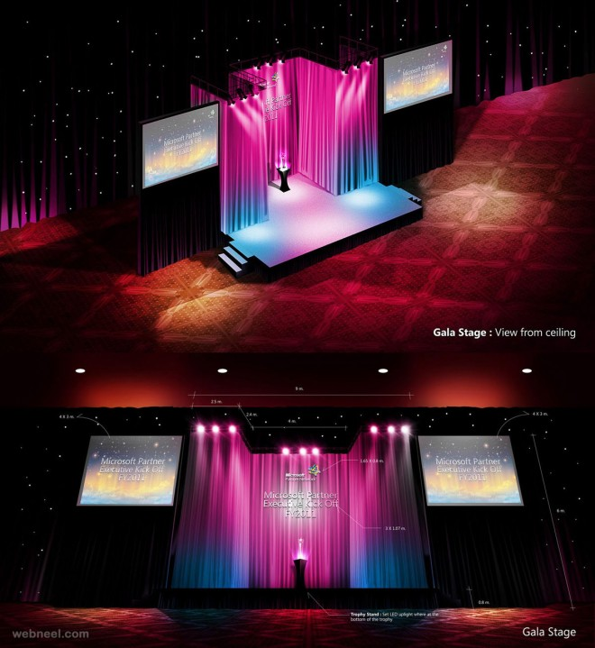 corporate stage design