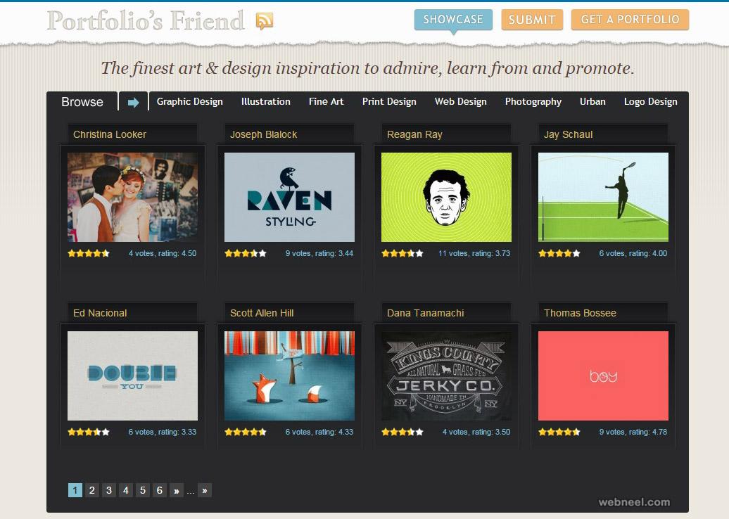 free websites portfolios friend
