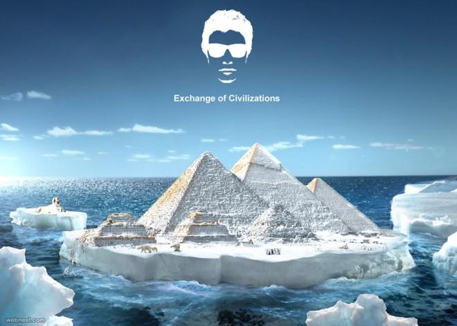 global warming creative advertising