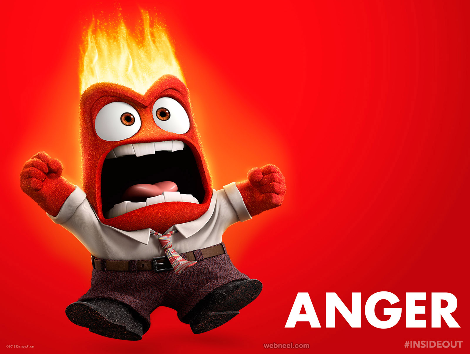 disney inside out characters anger