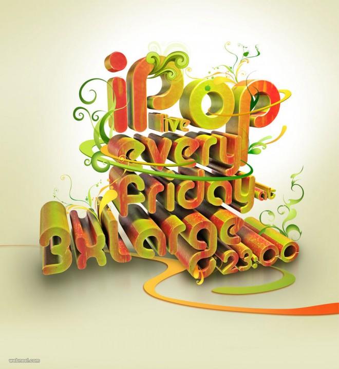 typography design by taylanezer