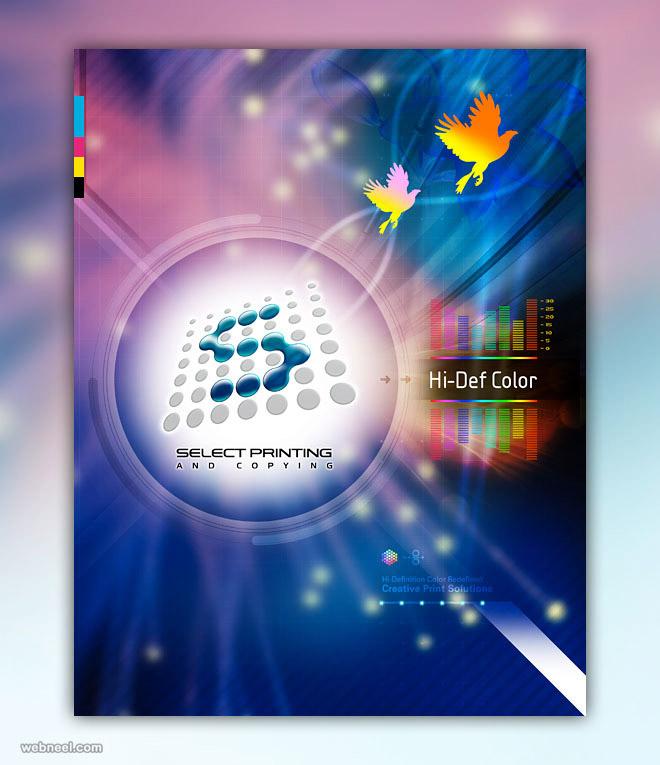 brochure design printing