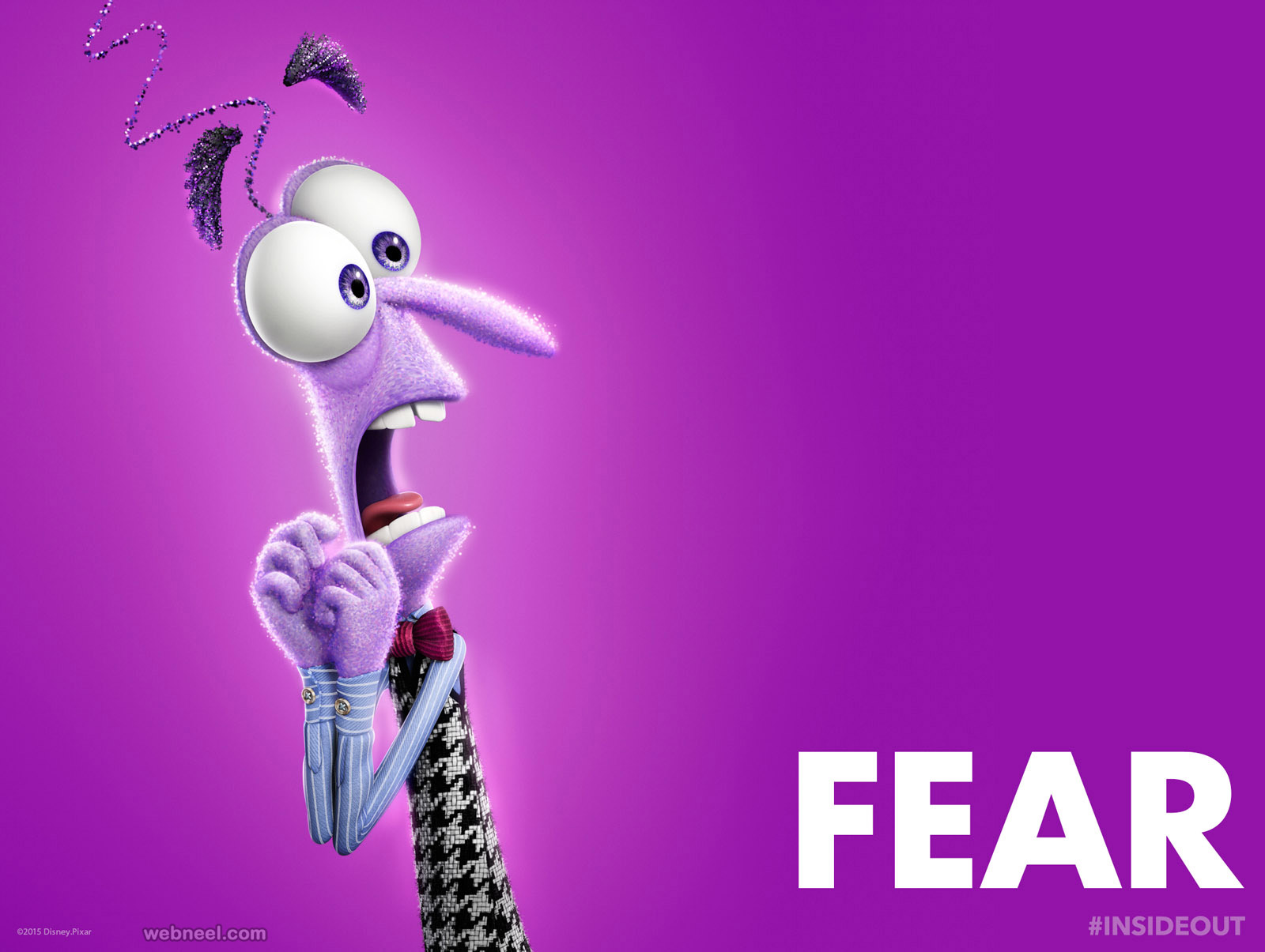 disney inside out characters fear