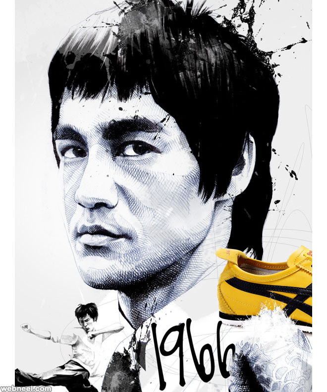 brucelee creative art by david despau
