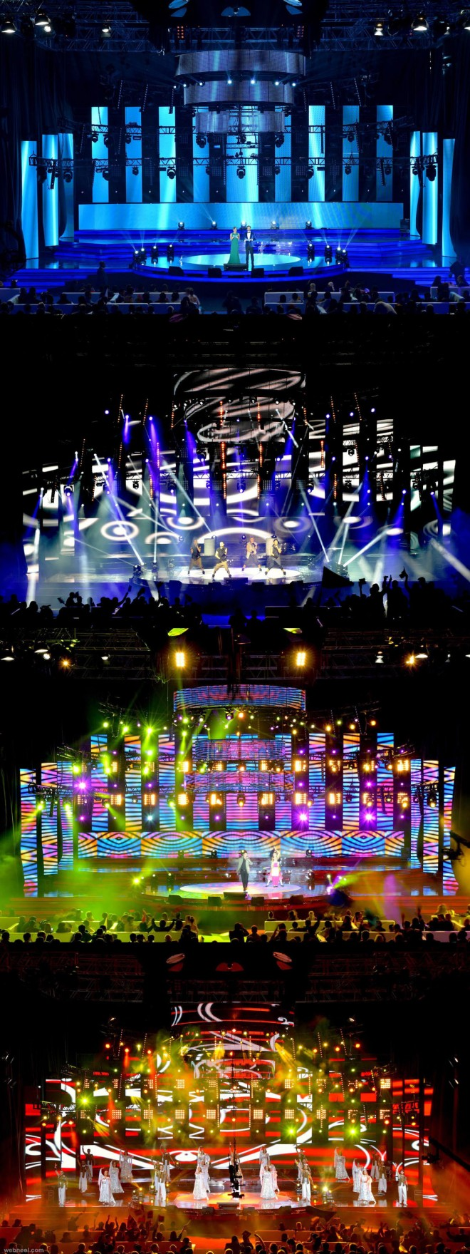 concert stage design by phantom