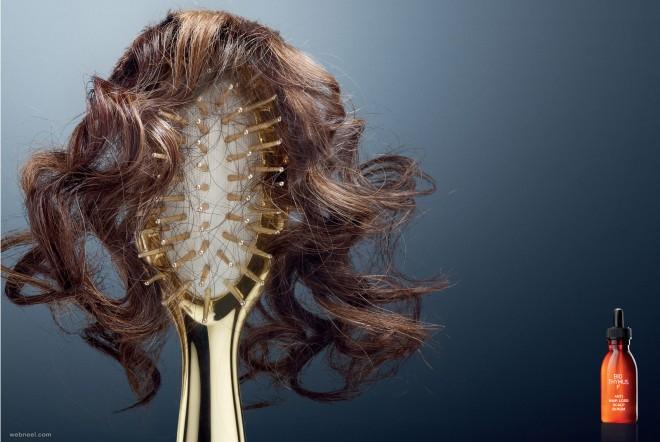 hair loss advertisement