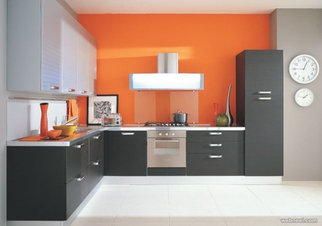 modern kitchen wall paint ideas