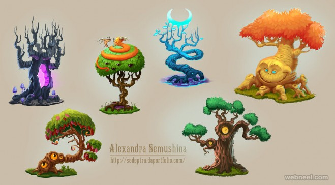 tree drawing ideas by sedeptra