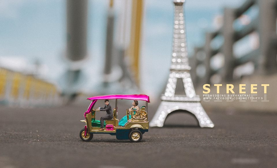 eiffel tower wedding photography