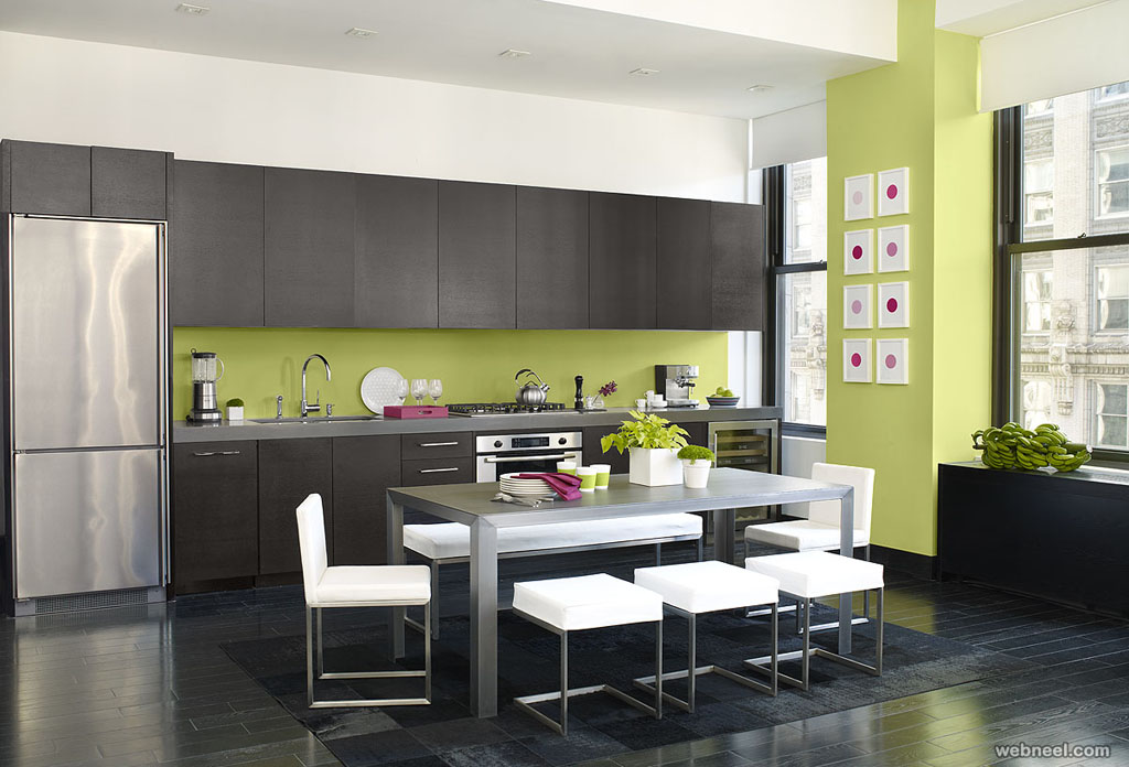 green kitchen color ideas