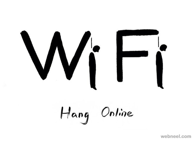 wifi funny drawings by shanghai tango