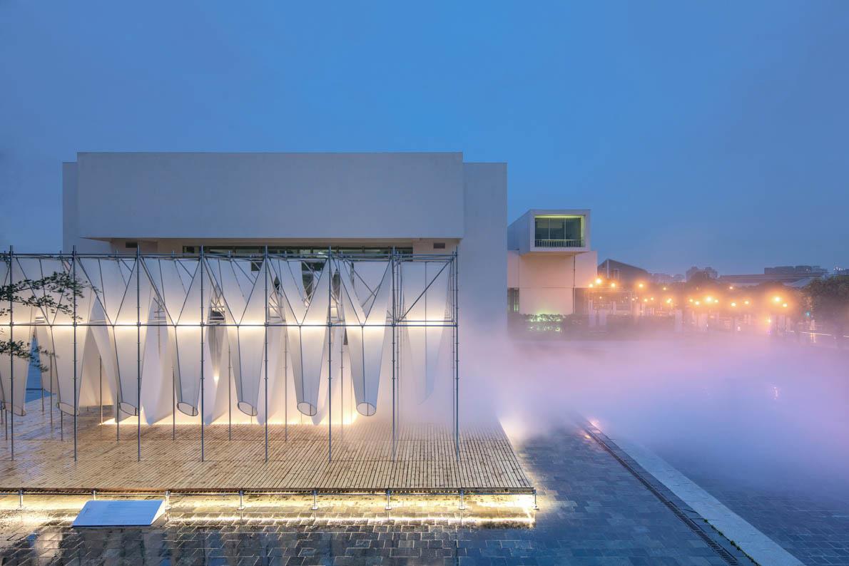 mist encounter public design by taipei design awards