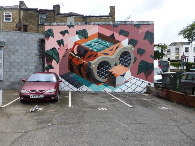 kaleidoscope street art festival by lowbros