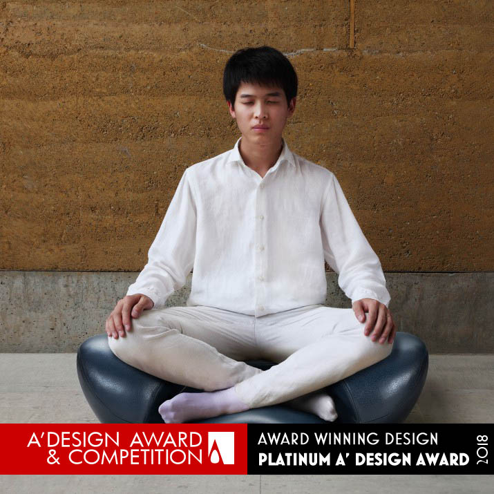 meditation seat award winning design by gao fenglin