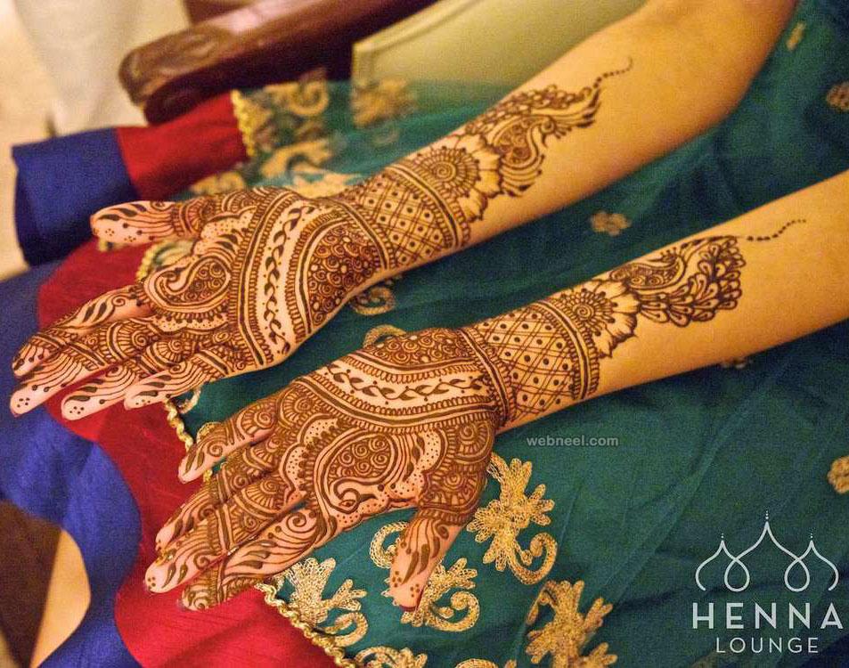 wedding bridal mehndi design