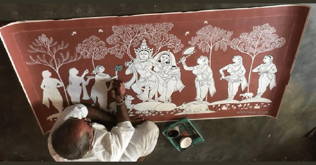 odisha patta chitra painting