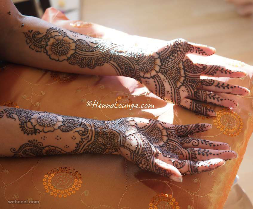 wedding bridal mehndi design by darcy vasudev