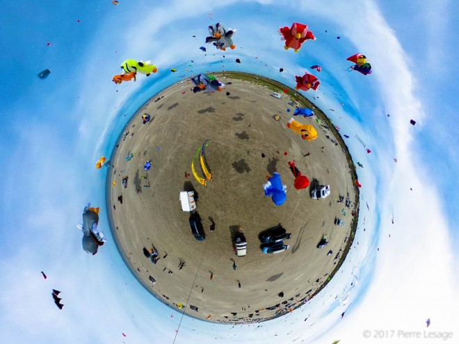 kites aerial photography by pierre lesage